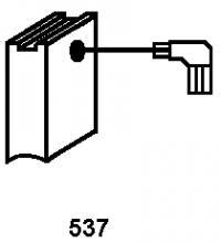 Carbon brushes 0999.13 for DeWalt power tools